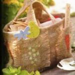сделать садовую сумку