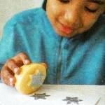 печатка из картофеля