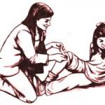 Оказать первую помощь