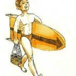 По волнам на торпеде буксировщика