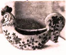 ваза в виде петушка