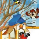 домик для птичек