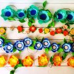 Цветочные гирлянды для праздника
